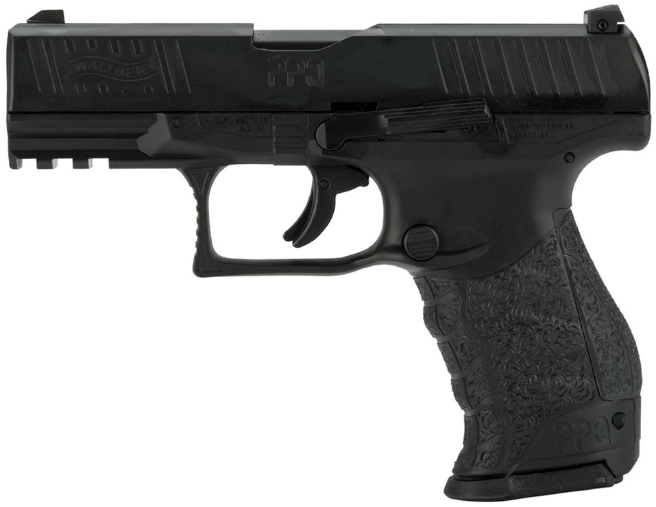 Umarex Walther PPQ M2 .43 Call. Paintball Pistol Black Left Side.jpg