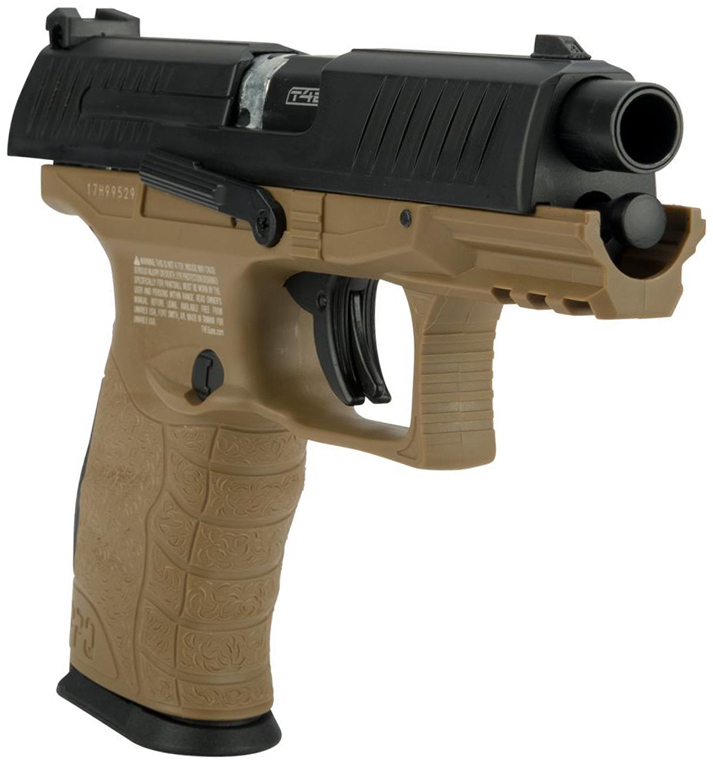 Umarex Walther PPQ M2 .43 Call. Paintball Pistol Tan Right Side Angle.jpg