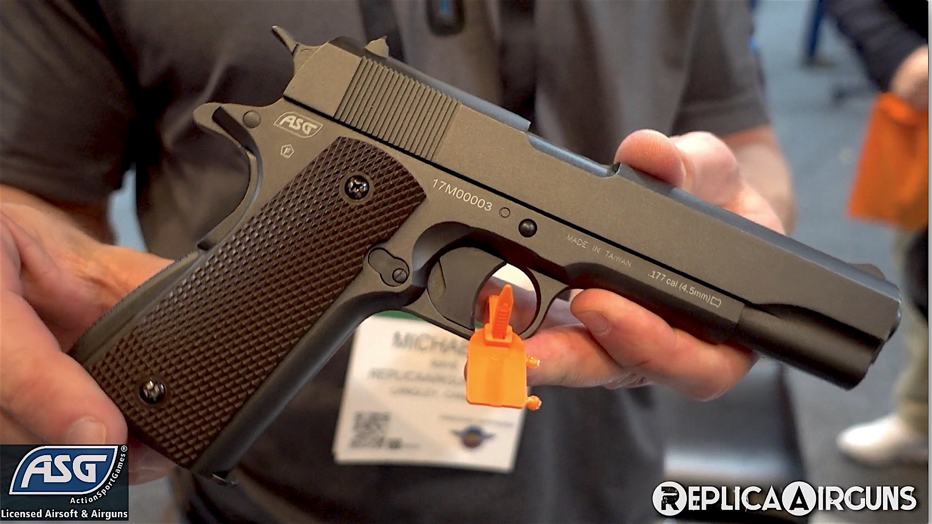 SHOT Show 2018 ASG Dan Wesson 1911 Pellet Pistol.jpg