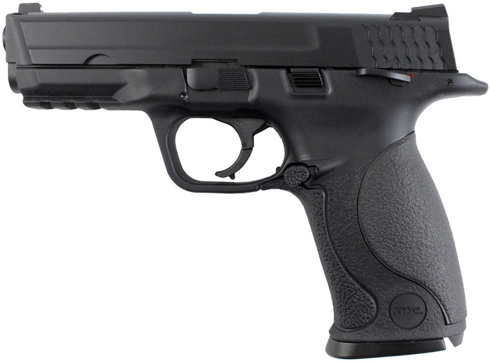 KWC MP40 CO2 Blowback Airsoft Pistol Left Side.jpg