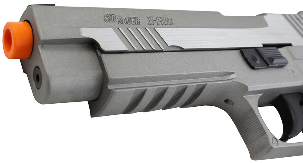 Cybergun Sig Sauer X-five Airtsfot Stainless Right Side Barrel.jpg