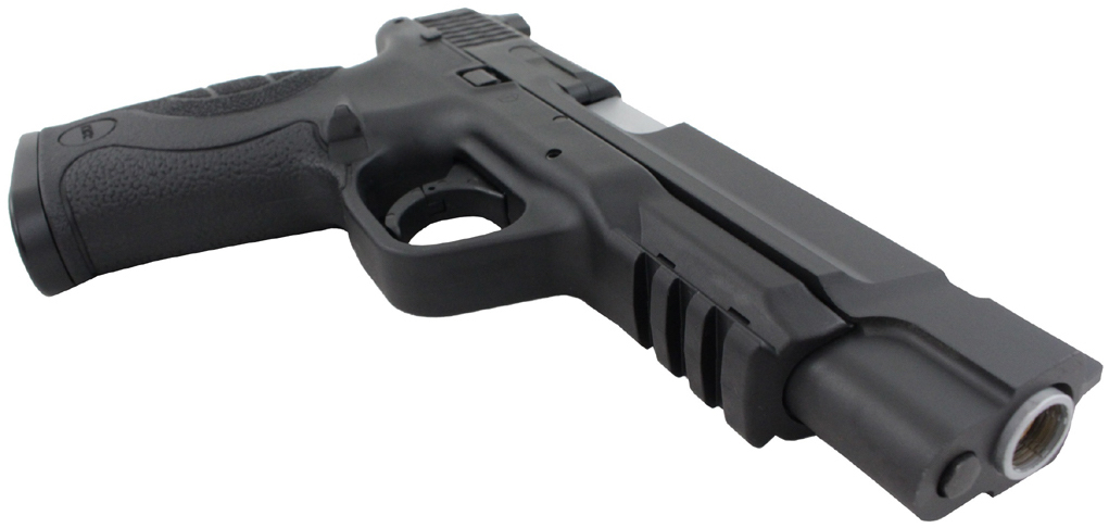 KWC M&P 40 Extended Barrel Right Side Angle Front.jpg