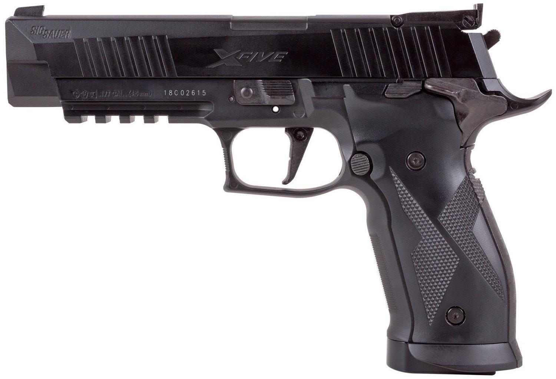 Sig Sauer X-Five ASP CO2 Blowback Pellet Pistol Field Test