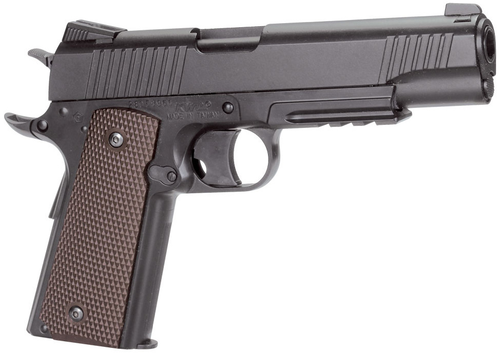 KWC CQBP M45 A1 CO2 NBB Airsoft Pistol Left Side.jpg