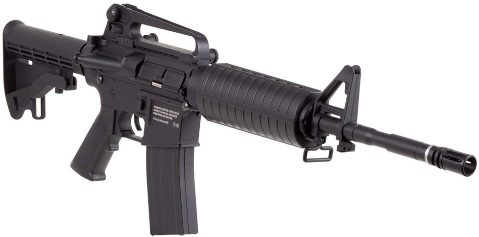 HellBoy CO2 BB M4 Air Rifle Right Side Front.jpg