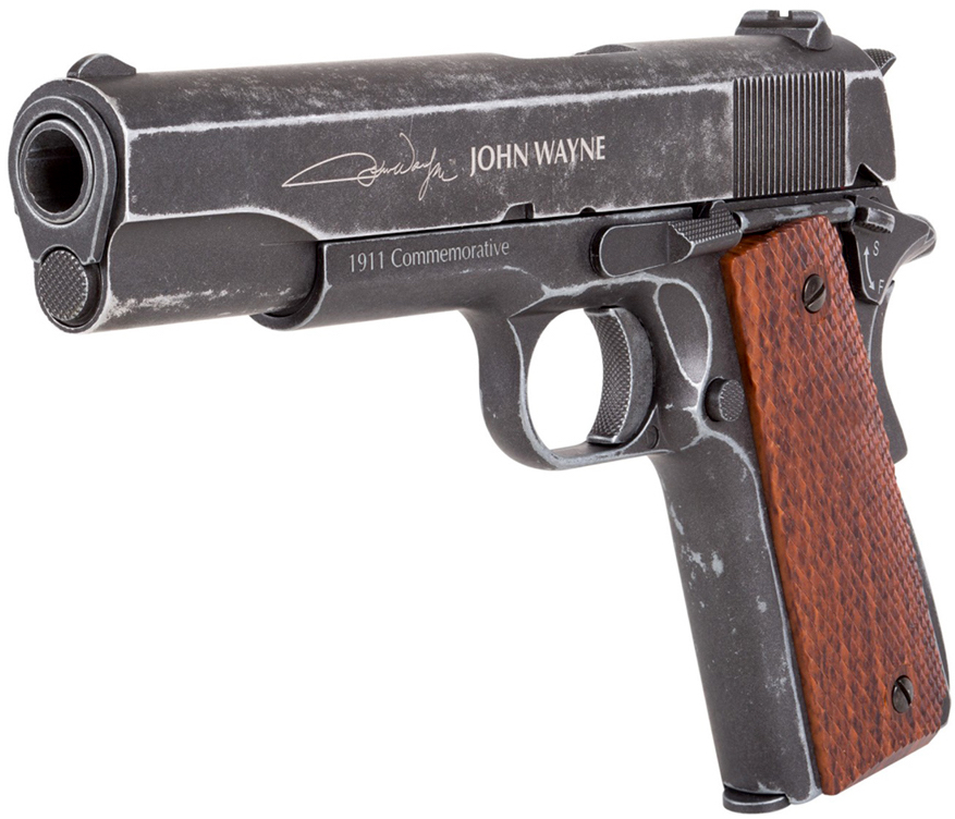 John Wayne 1911 CO2 Blowback BB Pistol Left Side Angle.jpg