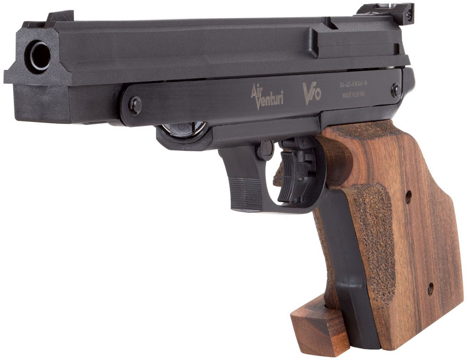 Air Venturi V10 Competition Pellet Pistol Left Side Angle.jpg