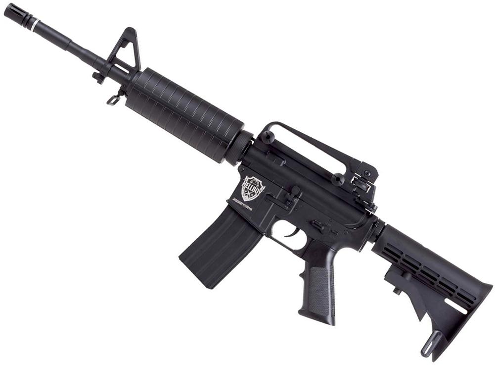 HellBoy CO2 BB M4 Air Rifle Left Side Angle.jpg