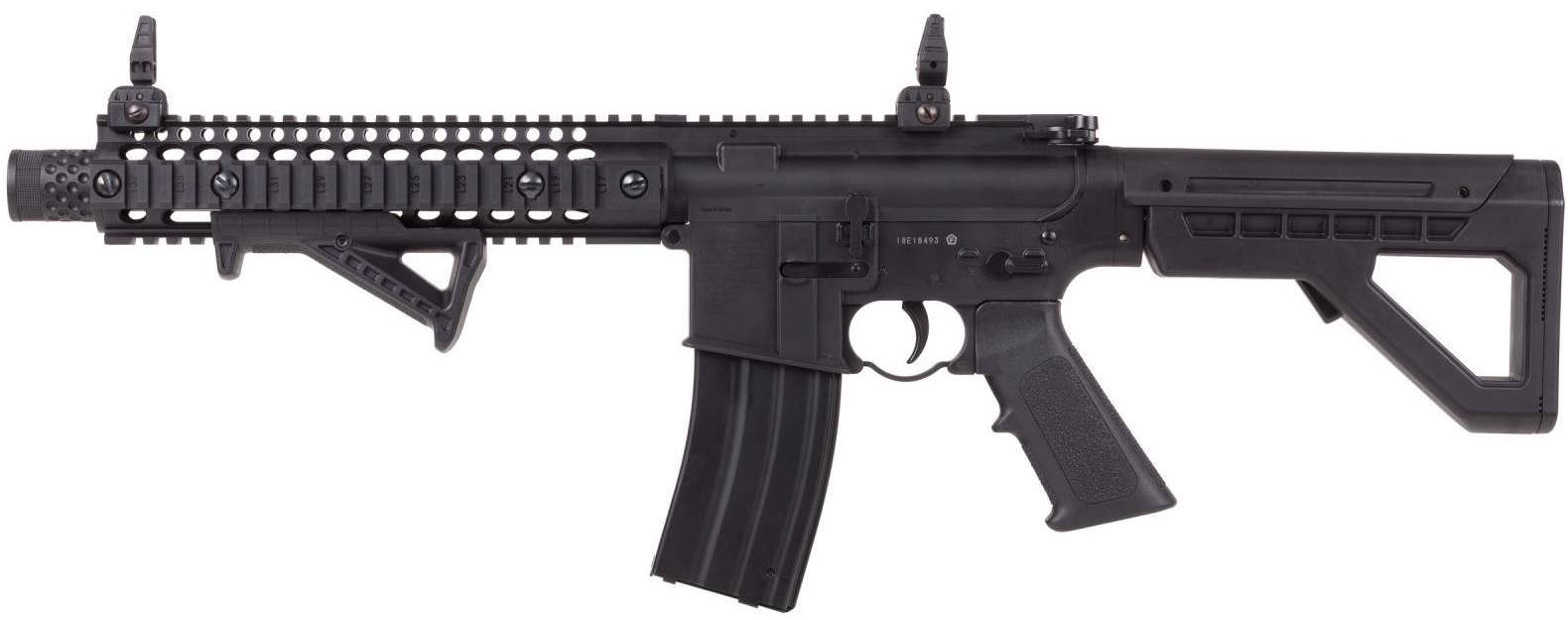 Crosman DPMS SBR CO2 Blowback BB M4 Left Side.jpg