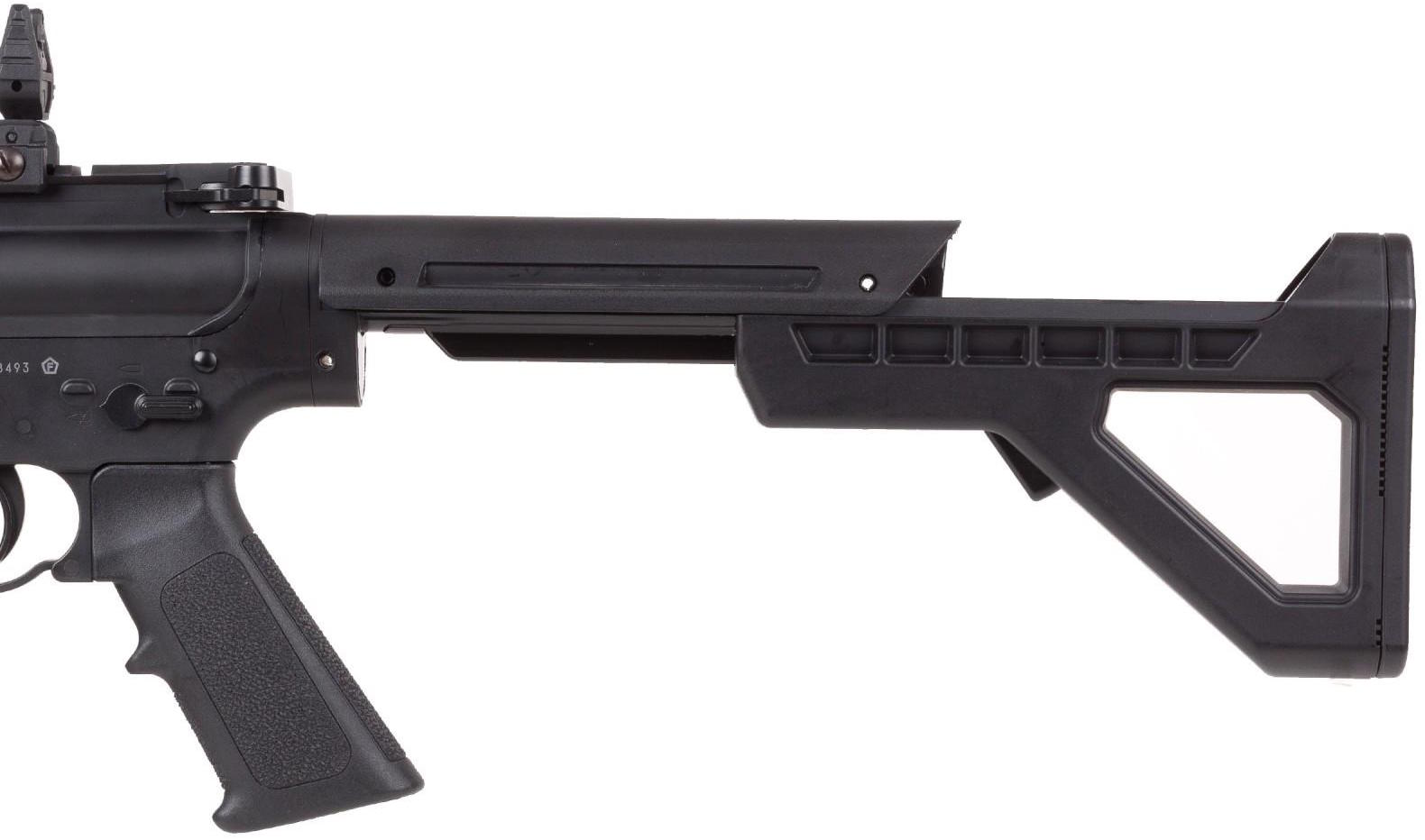 Crosman DPMS SBR CO2 Blowback BB M4 Rear Stock Extended.jpg