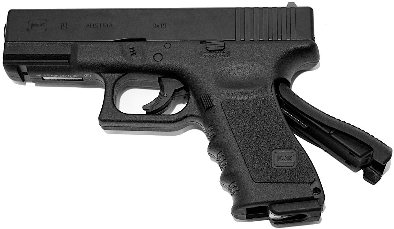 Umarex Glock 19 CO2 BB Pistol Table Top Review — Replica