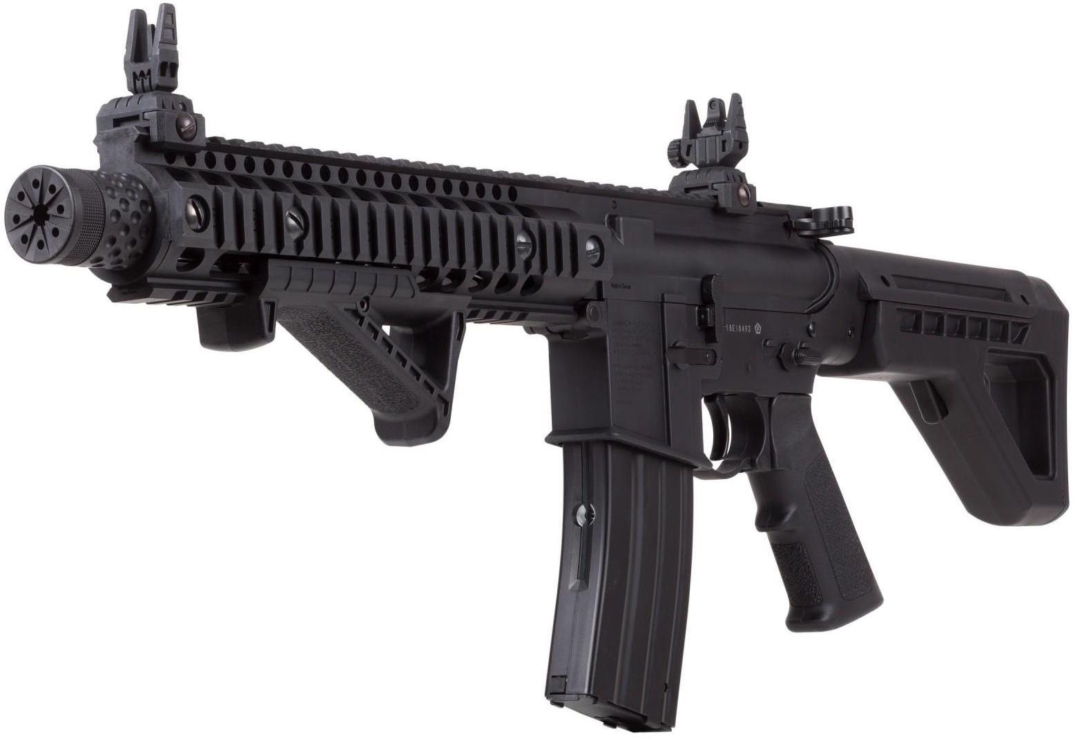 Crosman DPMS SBR CO2 Blowback BB M4 Left Side Angle.jpg