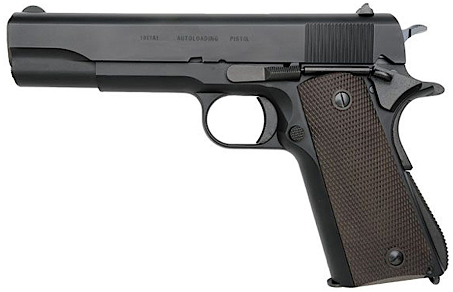 KWA M1911A1 GBB Airsoft Pistol Left Side No Red Tip.jpg
