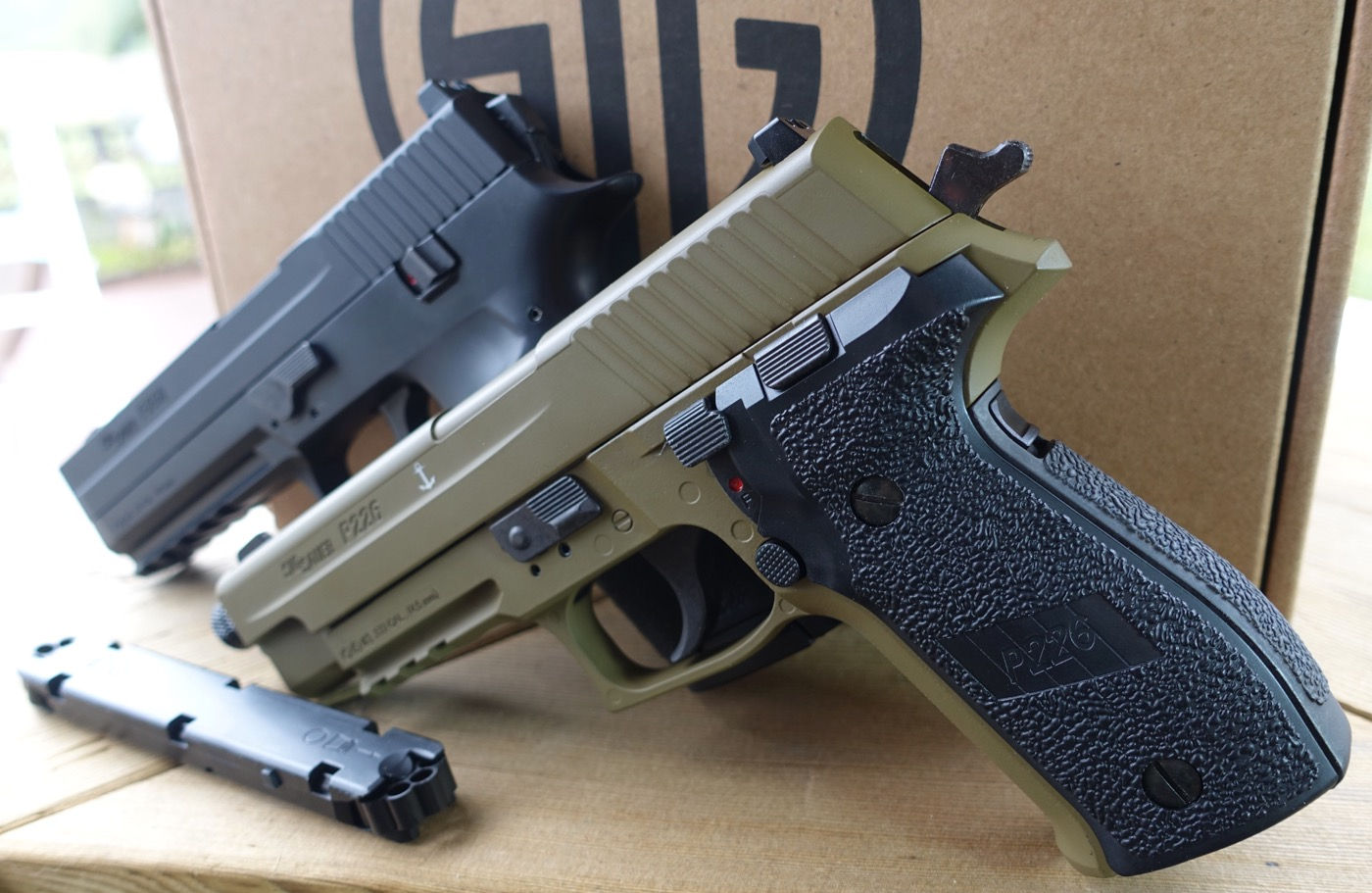 Sig Sauer ASP P226 and P250 Left Side 266 Mag Rear.jpg