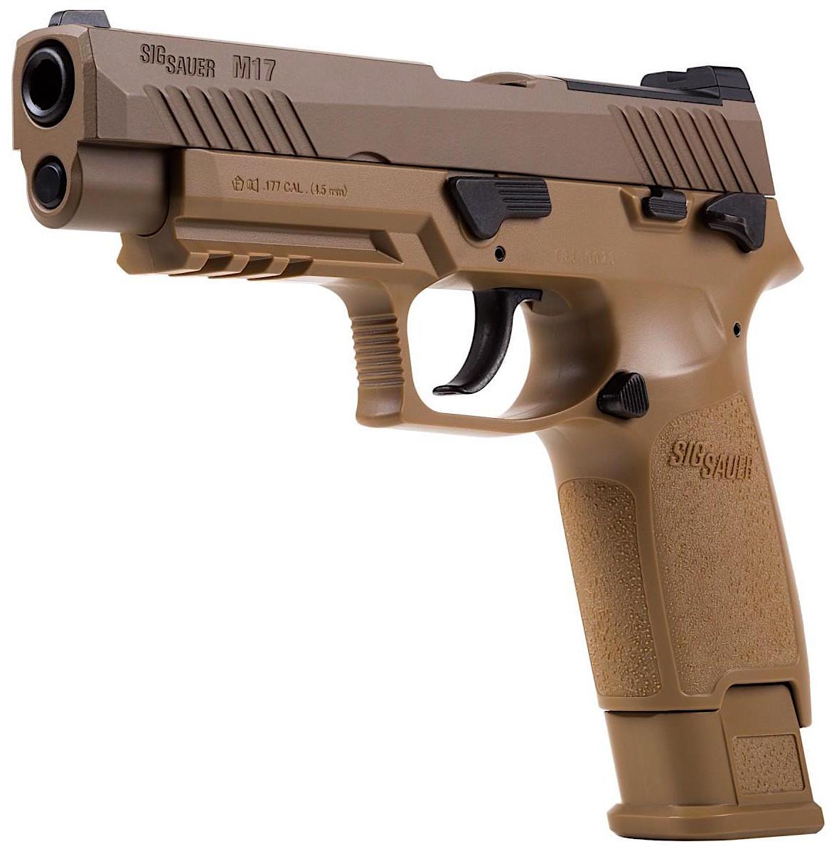 SIG Sauer M17 Blowback Pellet Pistol Left Side Angle.jpg