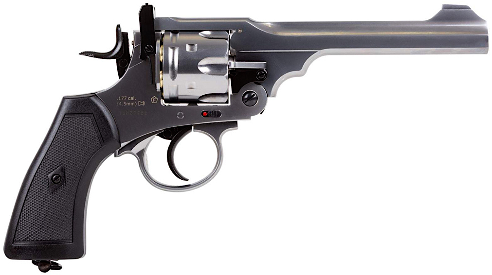 Webley MKVI .455 CO2 Shell Loading Pellet Revolver Right Side.jpg