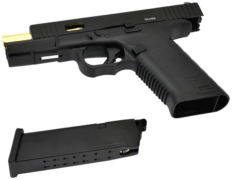 KWC 17 CO2 Blowback BB Pistol Left Side Mag.jpg