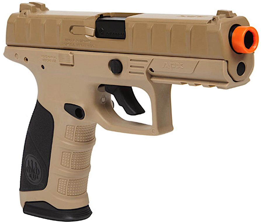 Umarex Beretta APX CO2 Blowback Airsoft Pistol Earth Right Side Angle.jpg