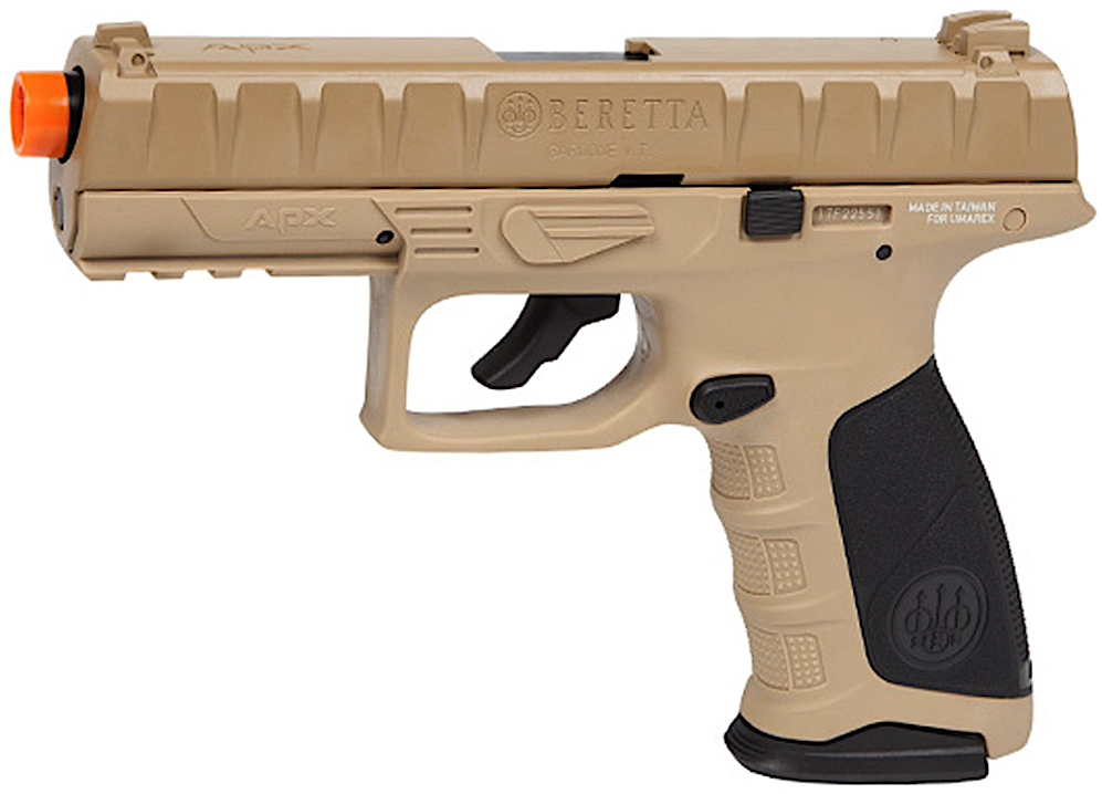 Umarex Beretta APX CO2 Blowback Airsoft Pistol Earth Left Side.jpg