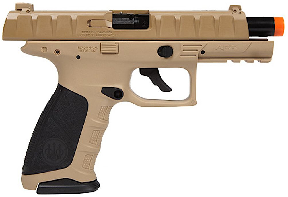 Umarex Beretta APX CO2 Blowback Airsoft Pistol Earth Right Side Open.jpg