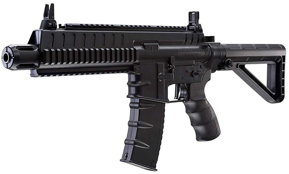 Umarex Steel Strike CO2 Blowback BB Rifle Left Side Front.jpg