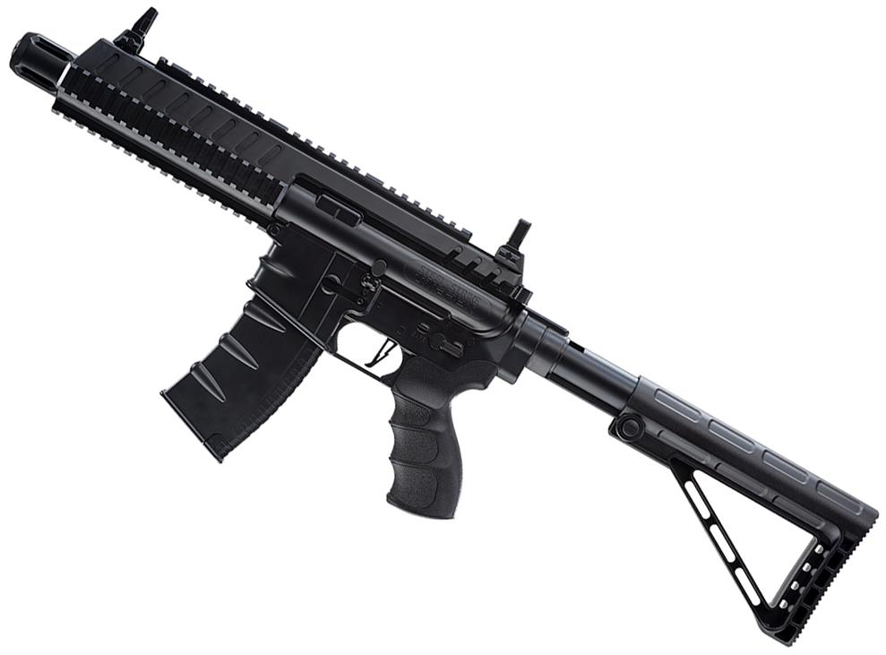 Umarex Steel Strike CO2 Blowback BB Rifle Left Side Angle.png