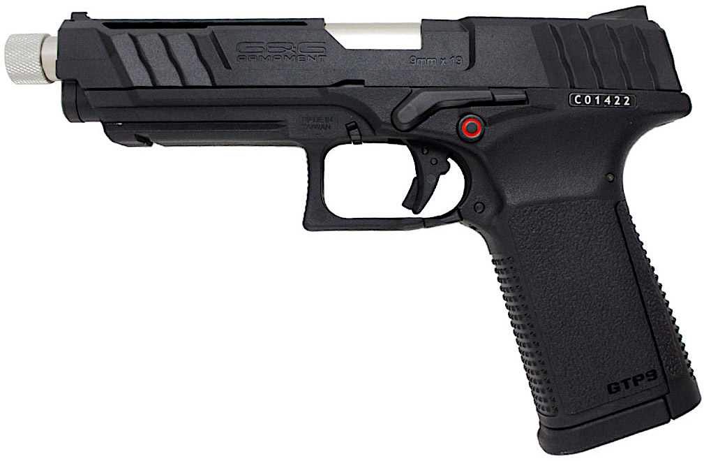 G&G GTP9 GBB Airsoft Pistol Left Side.jpg