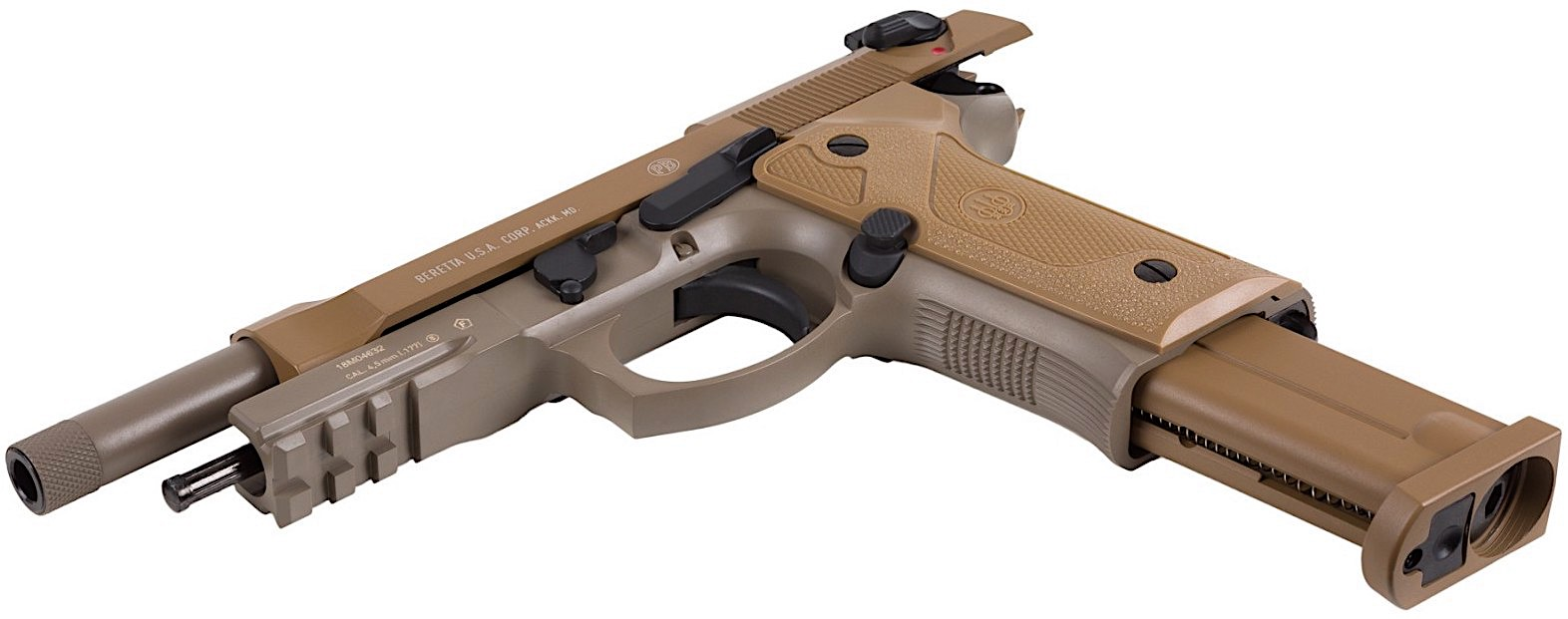 Umarex Beretta M9A3 BB Pistol Left Side Open Mag.jpg