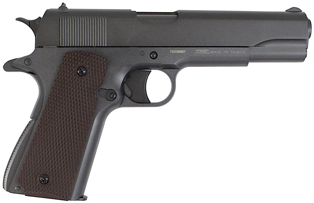 KWC M1911 Non-Blowback CO2 Pellet Pistol Right Side.jpg