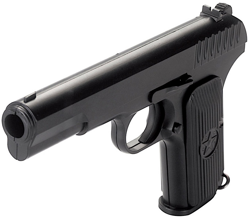 KWC Model TT-33 CO2 SAO Non-Blowback BB Pistol Table Top