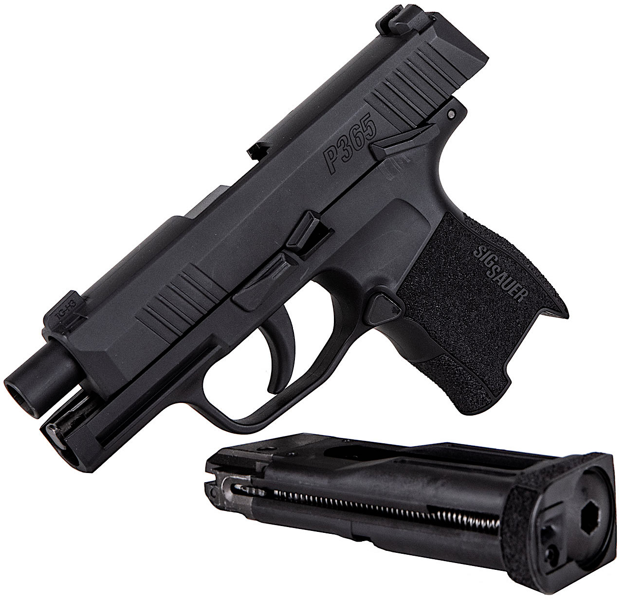 Sig Sauer P365 CO2 Blowback BB Pistol Open Mag.jpg