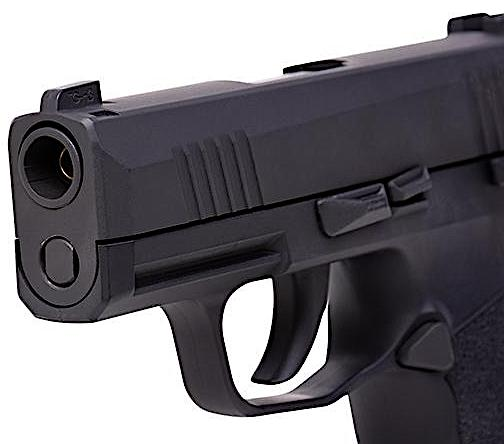 Sig Sauer P365 CO2 Blowback BB Pistol Left Side Barrel.jpg