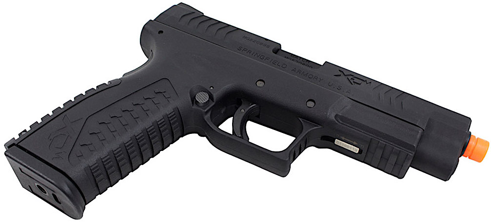 Air Venturi Springfield Armory XDM GBB Airsoft Pistol Right Angle.jpg