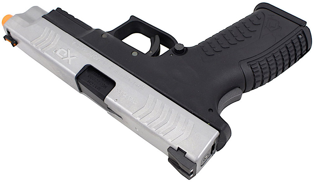 Air Venturi Springfield Armory XDM GBB Airsoft Pistol Right Angle Top.jpg