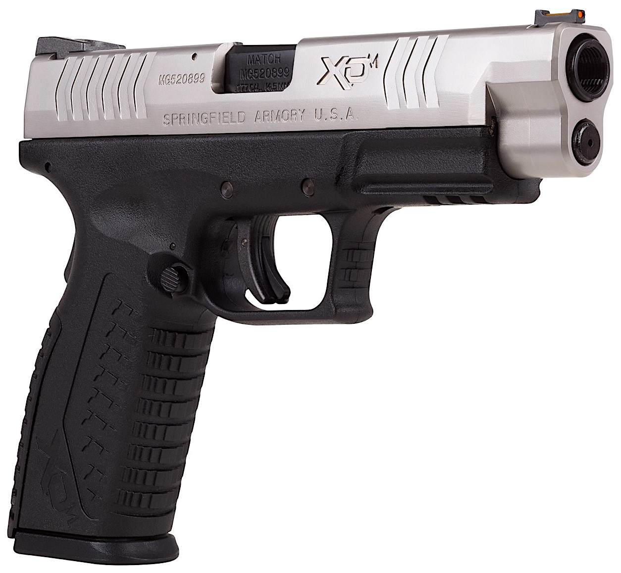Springfield Armory XDM CO2 BB Right Side Angle Silver.jpg