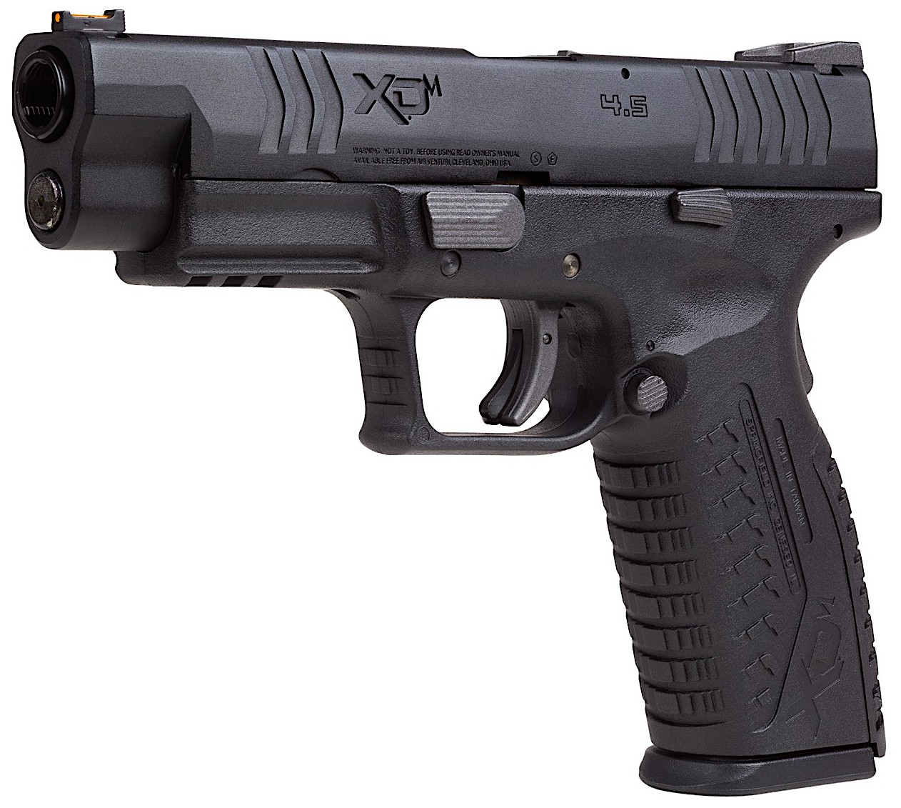 Springfield Armory XDM CO2 BB Left Side Angle Black.jpg