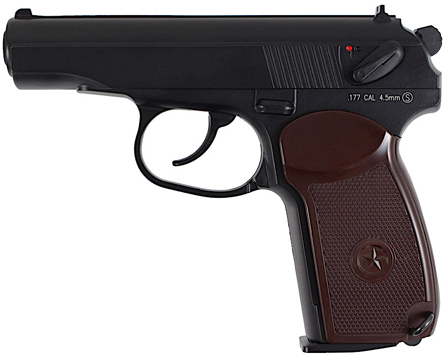 KWC Makarov PM CO2 NBB BB Pistol Left Side.jpg
