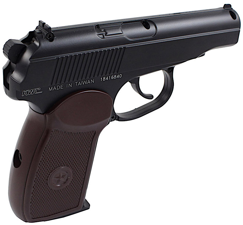 KWC Makarov PM CO2 NBB BB Pistol Left Side Hammer.jpg