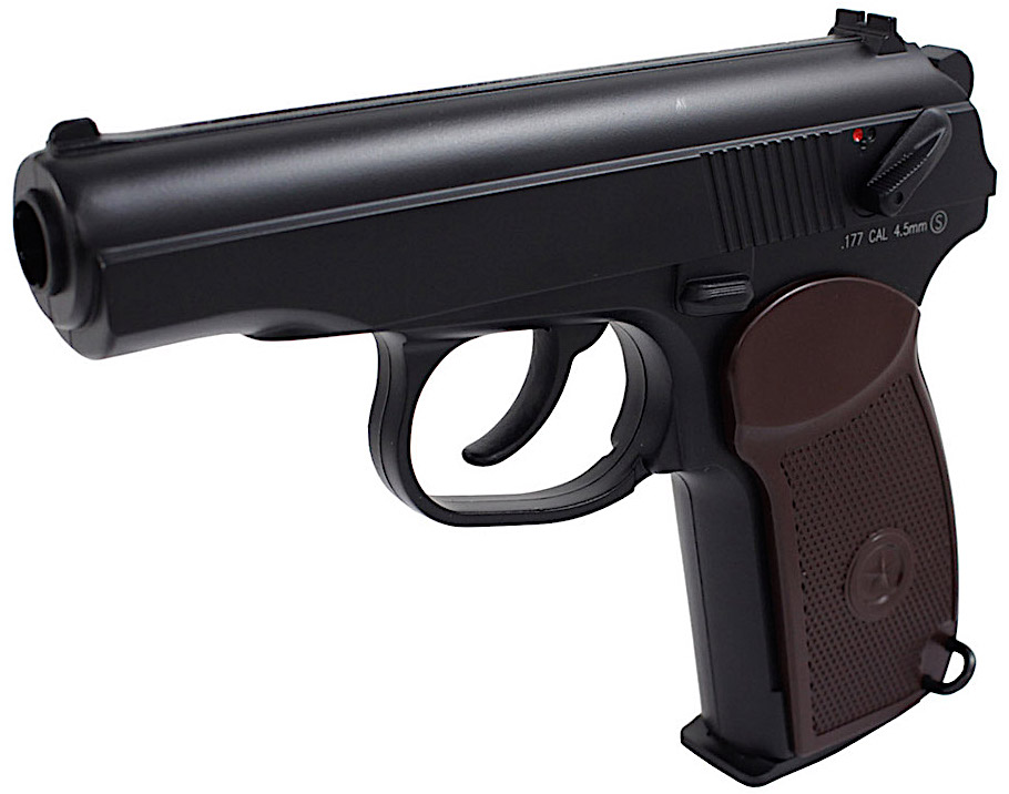 KWC Makarov PM CO2 NBB BB Pistol Right Side Barrel.jpg