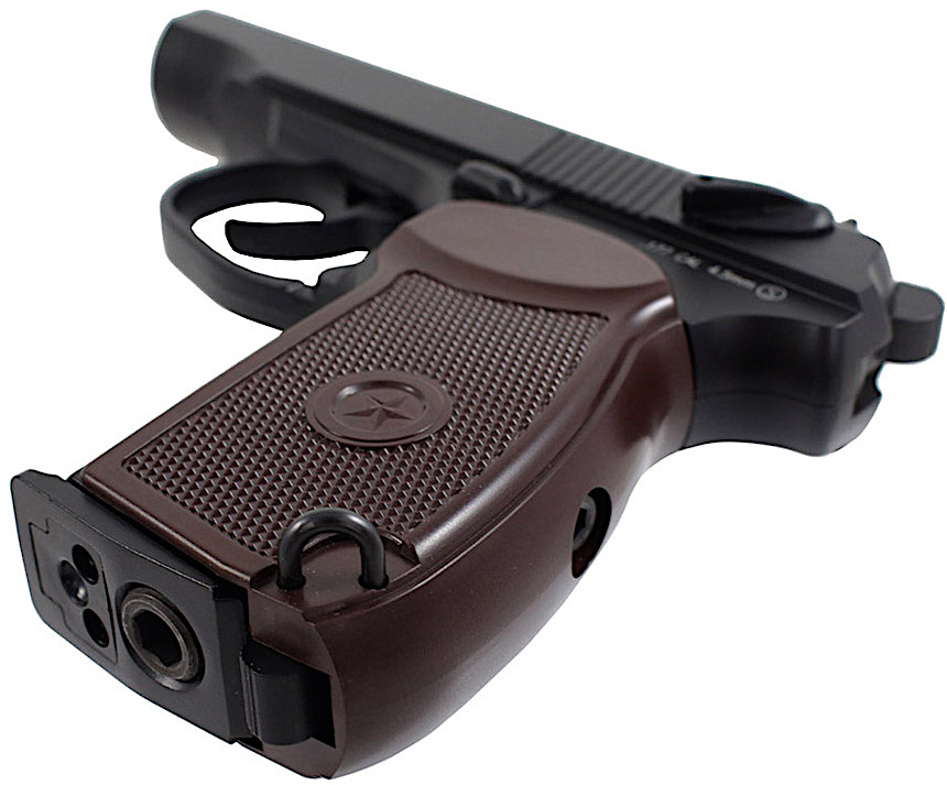 KWC Makarov PM CO2 NBB BB Pistol Left Side Bottom.jpg