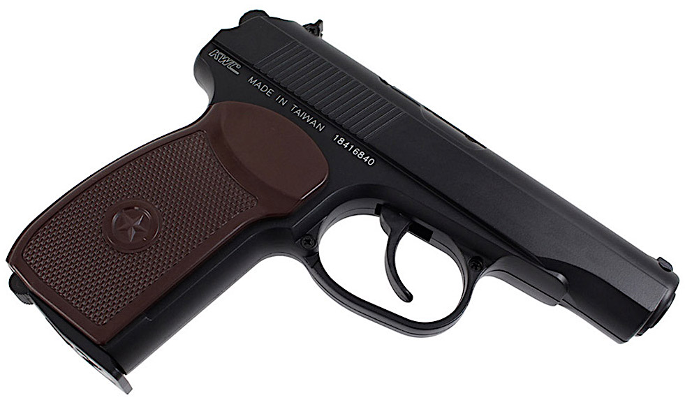KWC Makarov PM CO2 NBB BB Pistol Right Side Angle.jpg