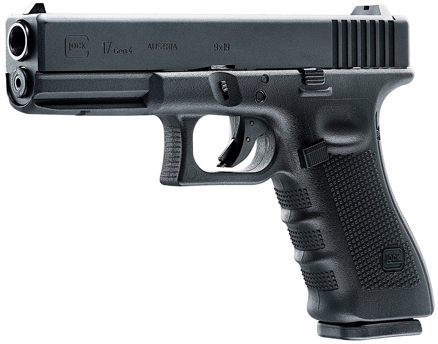Umarex Glock 17 4th Gen CO2 Blowback BB Pistol Left Side Angle.jpg