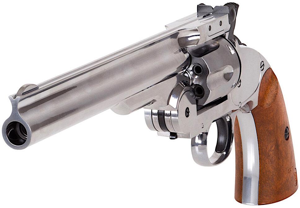 Schofield No. 3 BB-Pellet Revolver Left Side Front.jpg