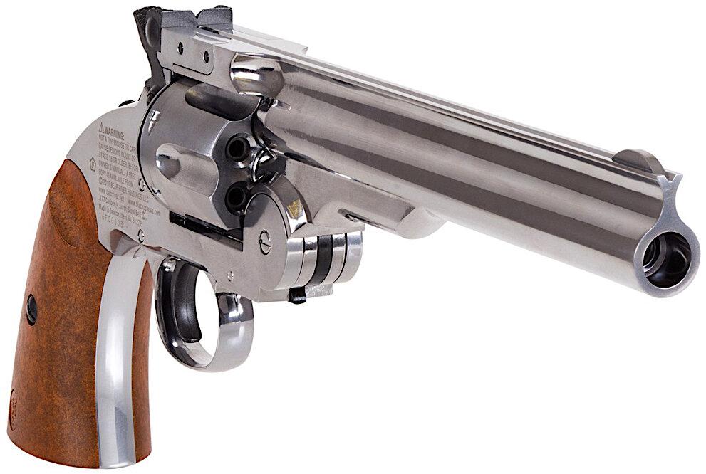 Schofield No. 3 BB-Pellet Revolver Right Side Front.jpg