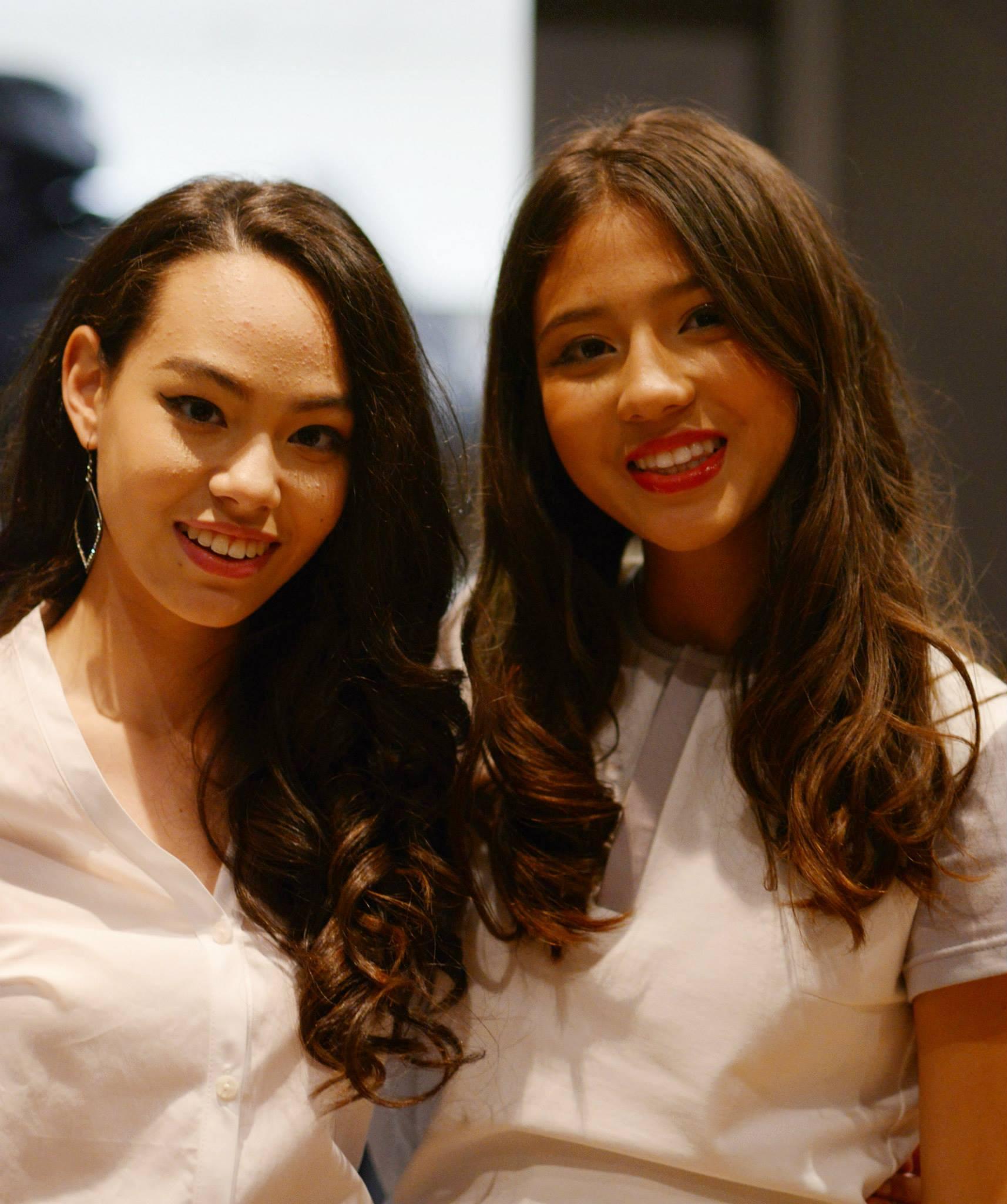 Models: Lianne & Natalya   Photography: Jasmine Yu