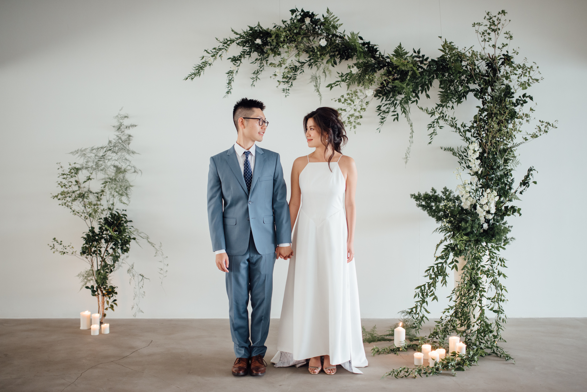 Jason and Shirleen, Image courtesy of    Lauhaus Photography    and    Timeless Events Design