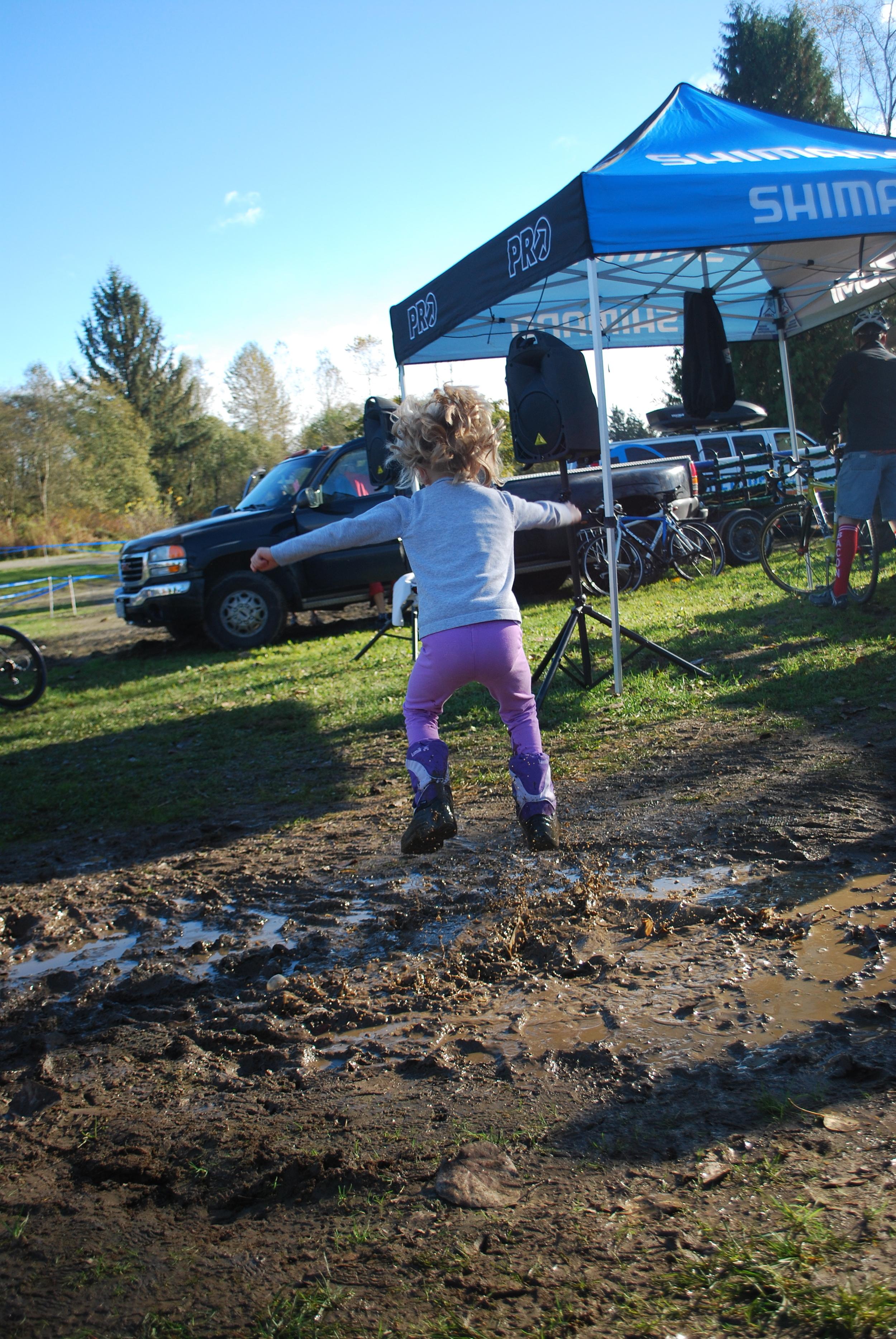 mud fun, in the sun