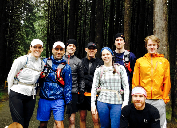Nicole, Ed, me, Andy, Sarah, Mike, Carson, Jan (kneeling)