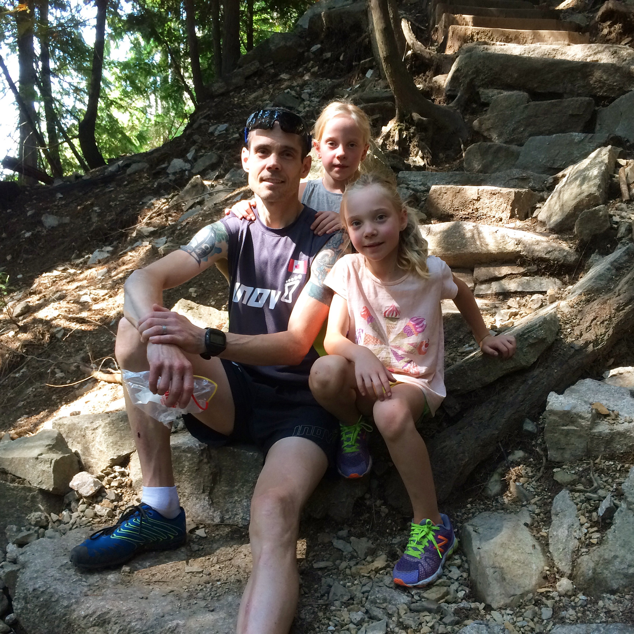 Family day on the Chief in Squamish