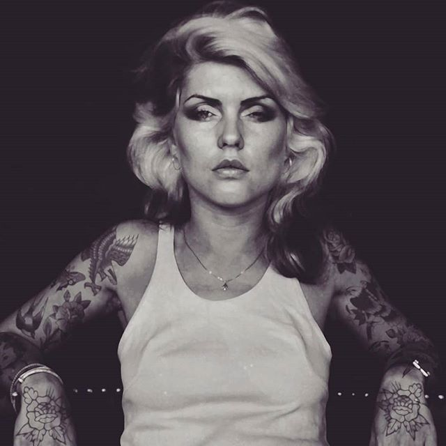 Gives zero fucks. This is the artwork of @indiangiver  Amazing stuff.  Something about this rework of Debbie Harry just makes sense.